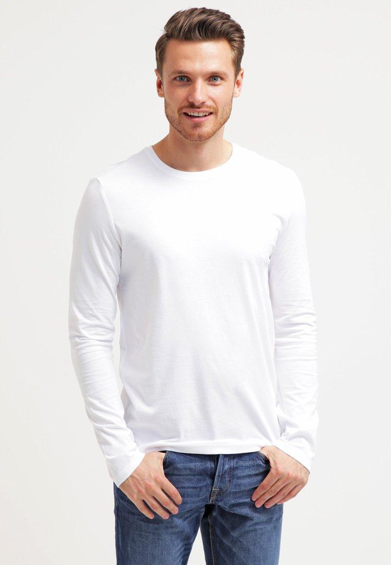 Pier One - T-shirt à manches longues - white