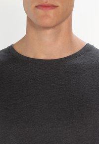 Pier One - Camiseta de manga larga - dark grey melange - 3