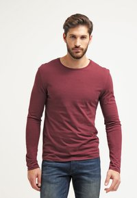 Pier One - Langarmshirt - bordeaux - 0