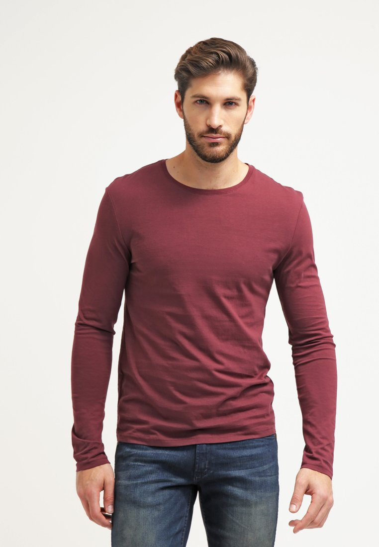 Pier One - Langarmshirt - bordeaux