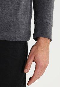 Pier One - Camiseta de manga larga - dark grey melange - 4