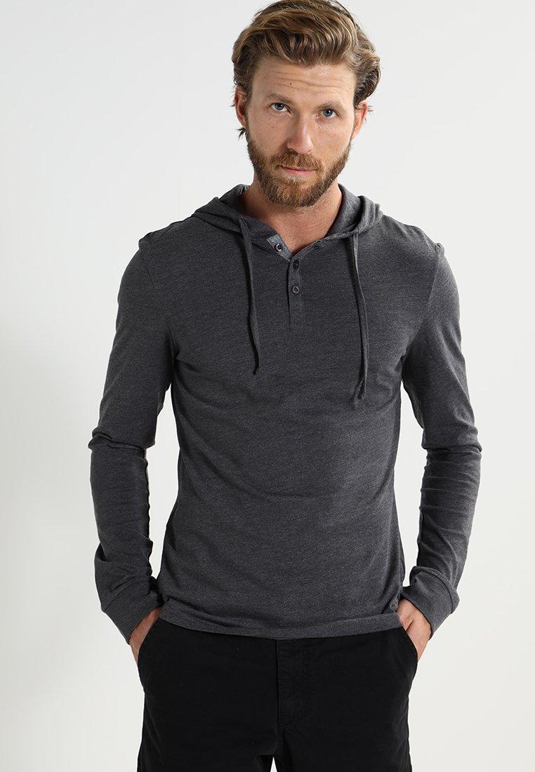 Pier One - Camiseta de manga larga - dark grey melange