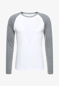 Pier One - Longsleeve - grey/white - 3