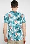Pier One - Print T-shirt - mottled teal