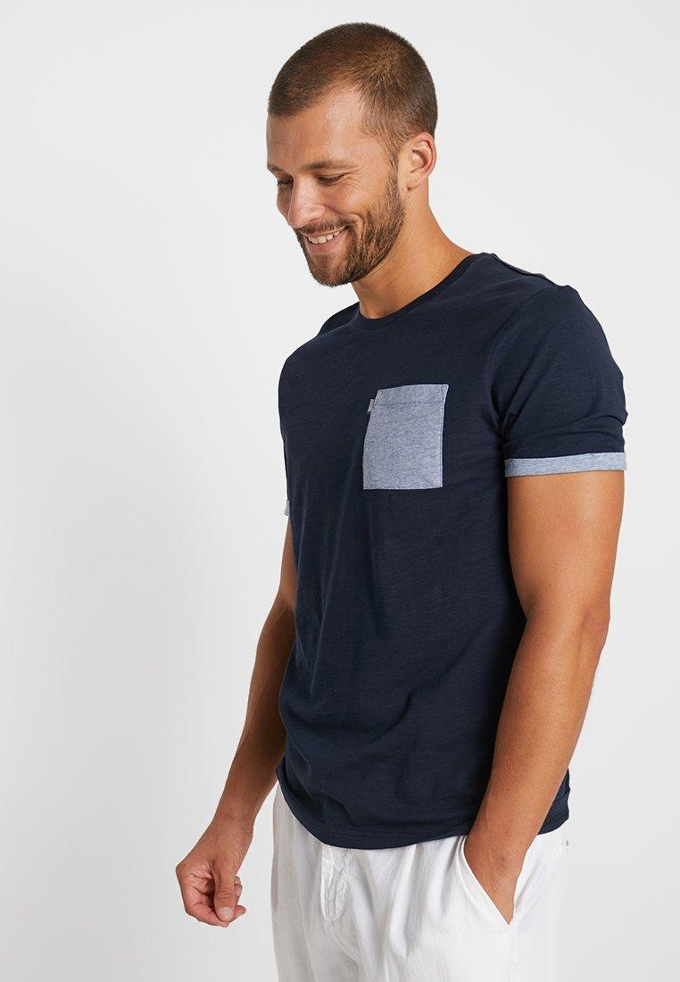 Blue T shirt Pier BasiqueDark One iPkXuZ