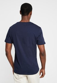 Pier One - Print T-shirt - dark blue - 2