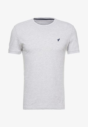 T-shirts - mottled light grey