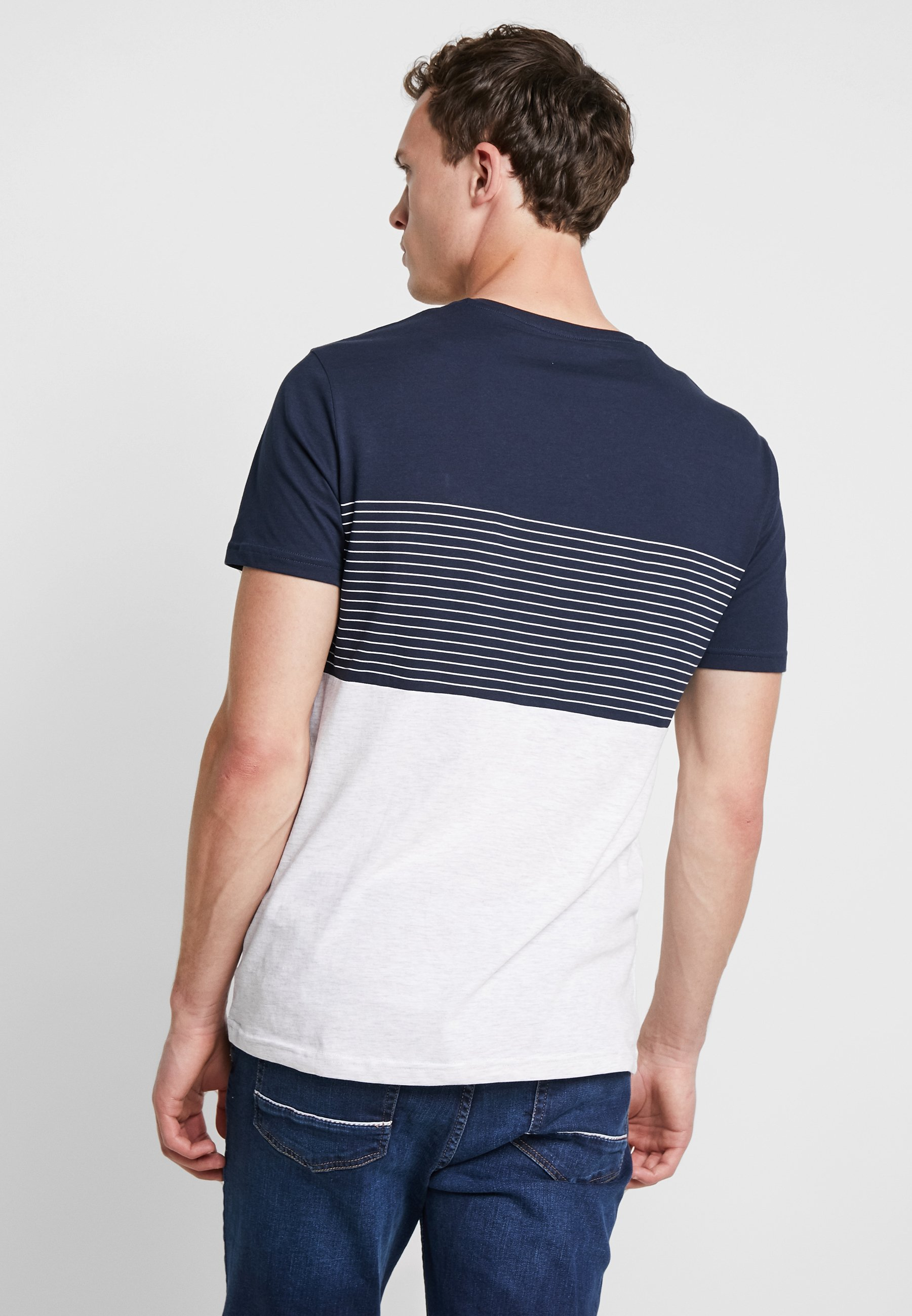 Pier ImpriméDark shirt T One Blue u35TF1lKcJ