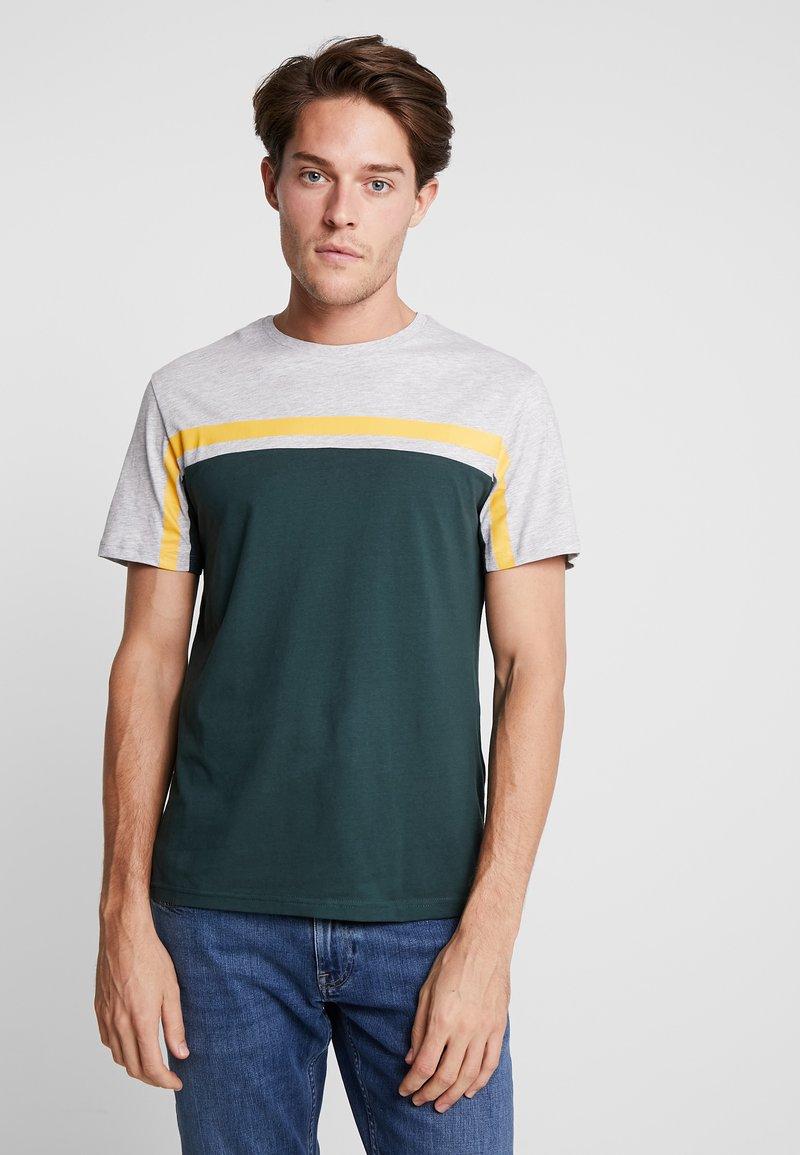 Pier One - T-Shirt print - green/yellow
