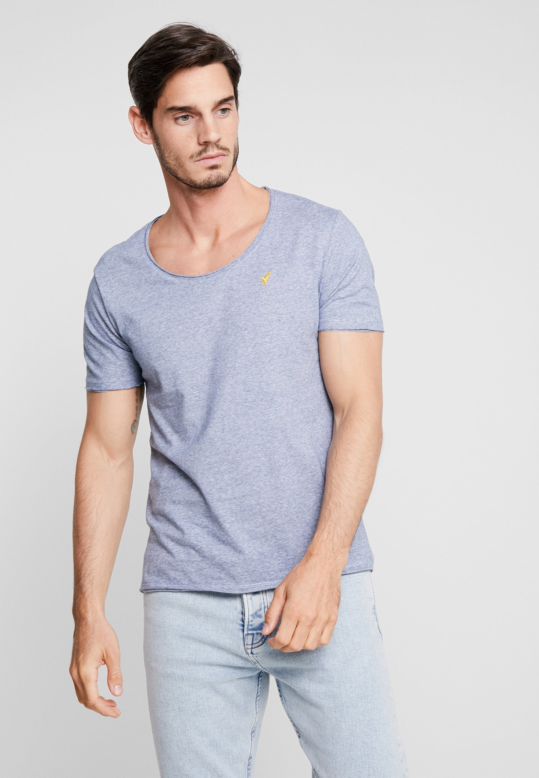 shirt One T Blue Pier ImpriméDark b7yYf6g