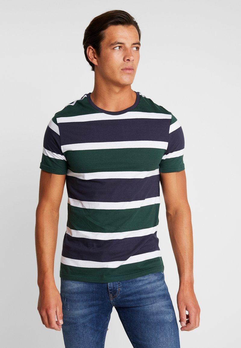 Pier One - Print T-shirt - dark green