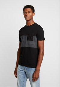Pier One - T-Shirt print - black - 0
