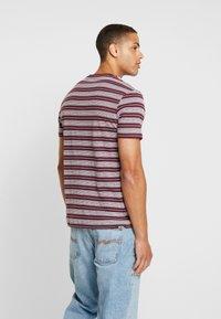 Pier One - T-shirt print - bordeaux - 2