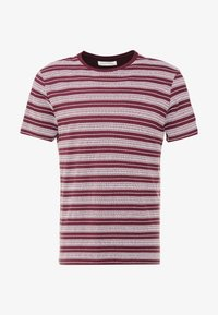 Pier One - T-shirt print - bordeaux - 3
