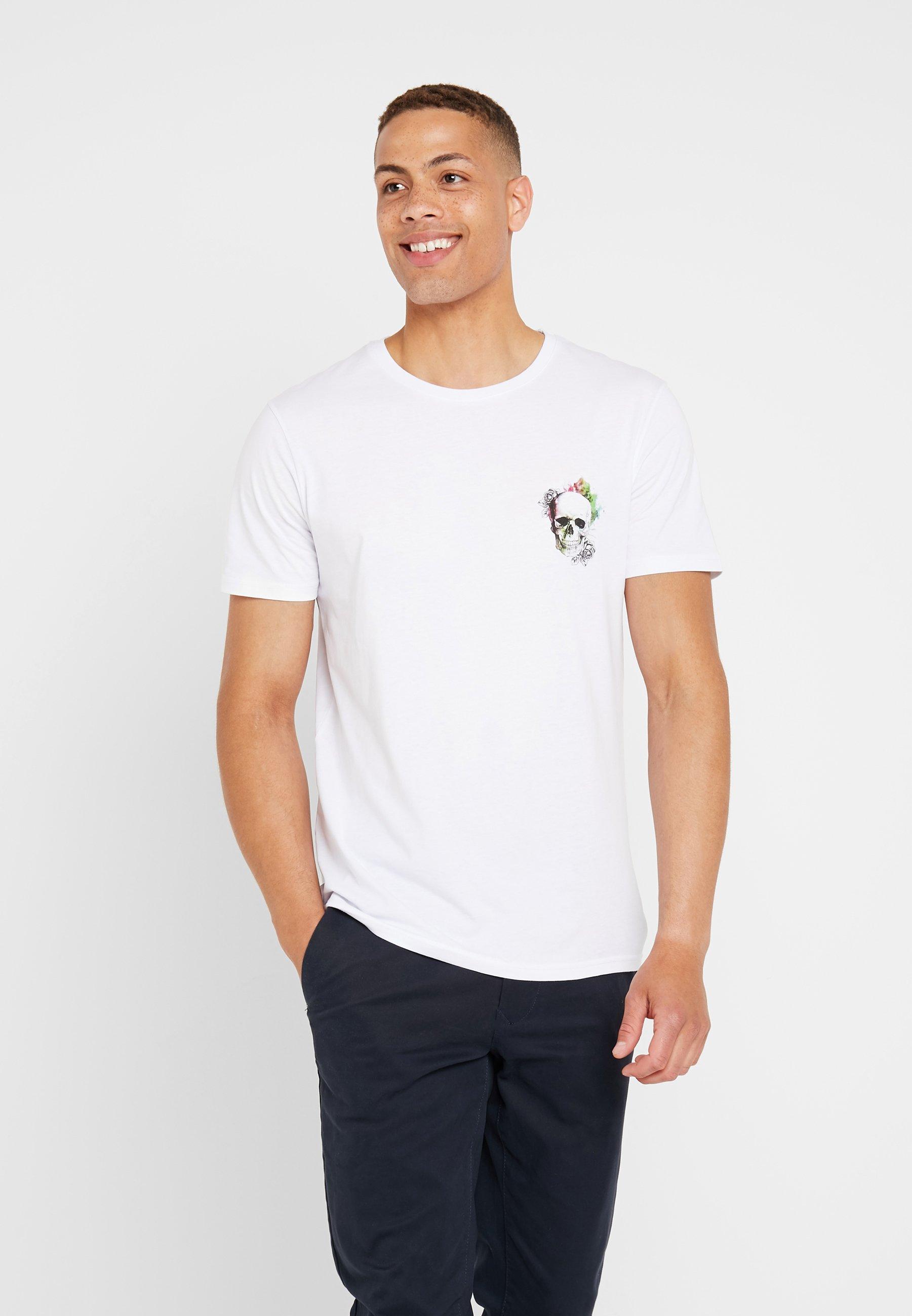 shirt One Con Stampa Pier T White nwON80vmPy