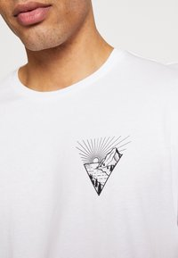 Pier One - Print T-shirt - white - 5