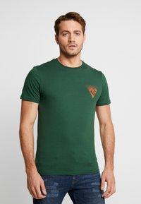 Pier One - T-shirt imprimé - dark green - 0