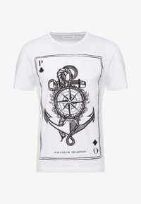 Pier One - T-shirt imprimé - white - 3