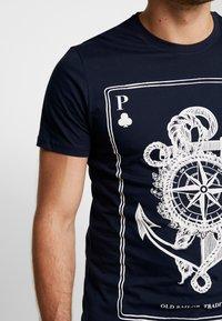 Pier One - T-shirt print - dark blue - 5