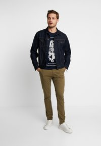 Pier One - T-shirt print - dark blue - 1