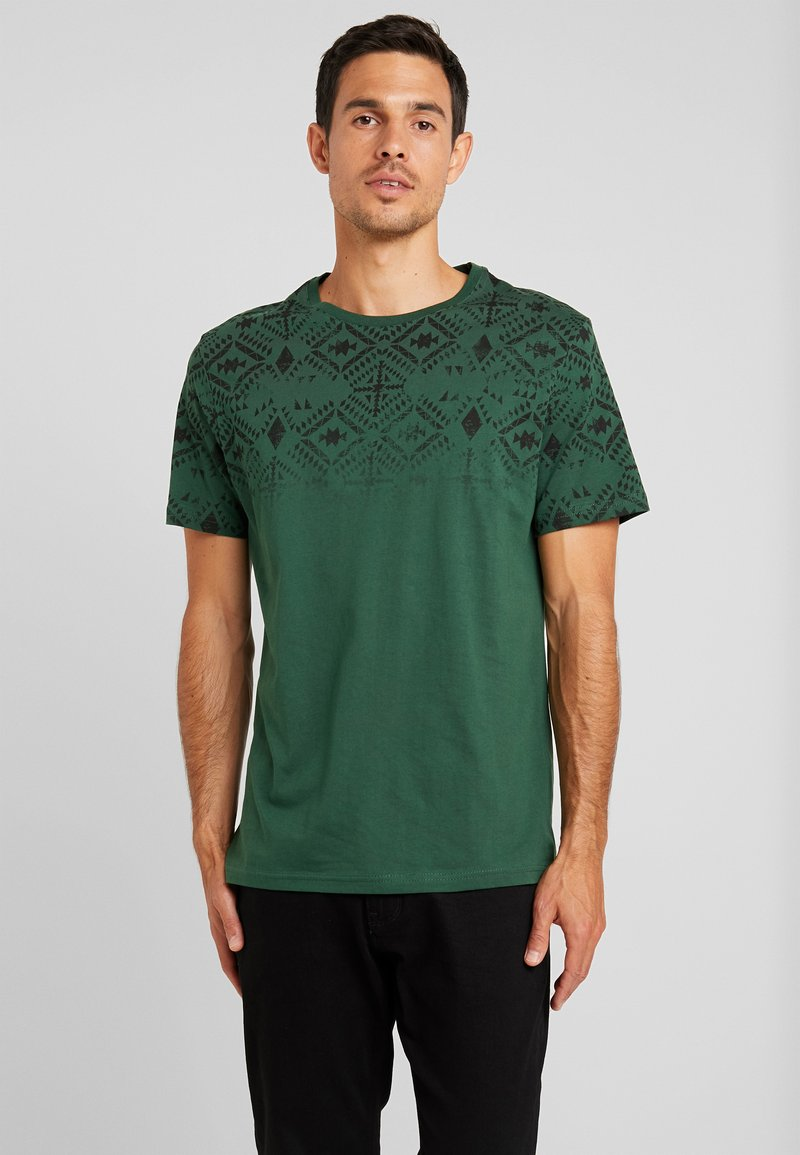 Pier One - T-Shirt print - dark green