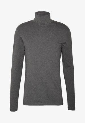 Langærmede T-shirts - dark gray