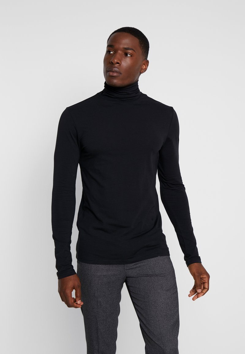 Pier One - Camiseta de manga larga - black