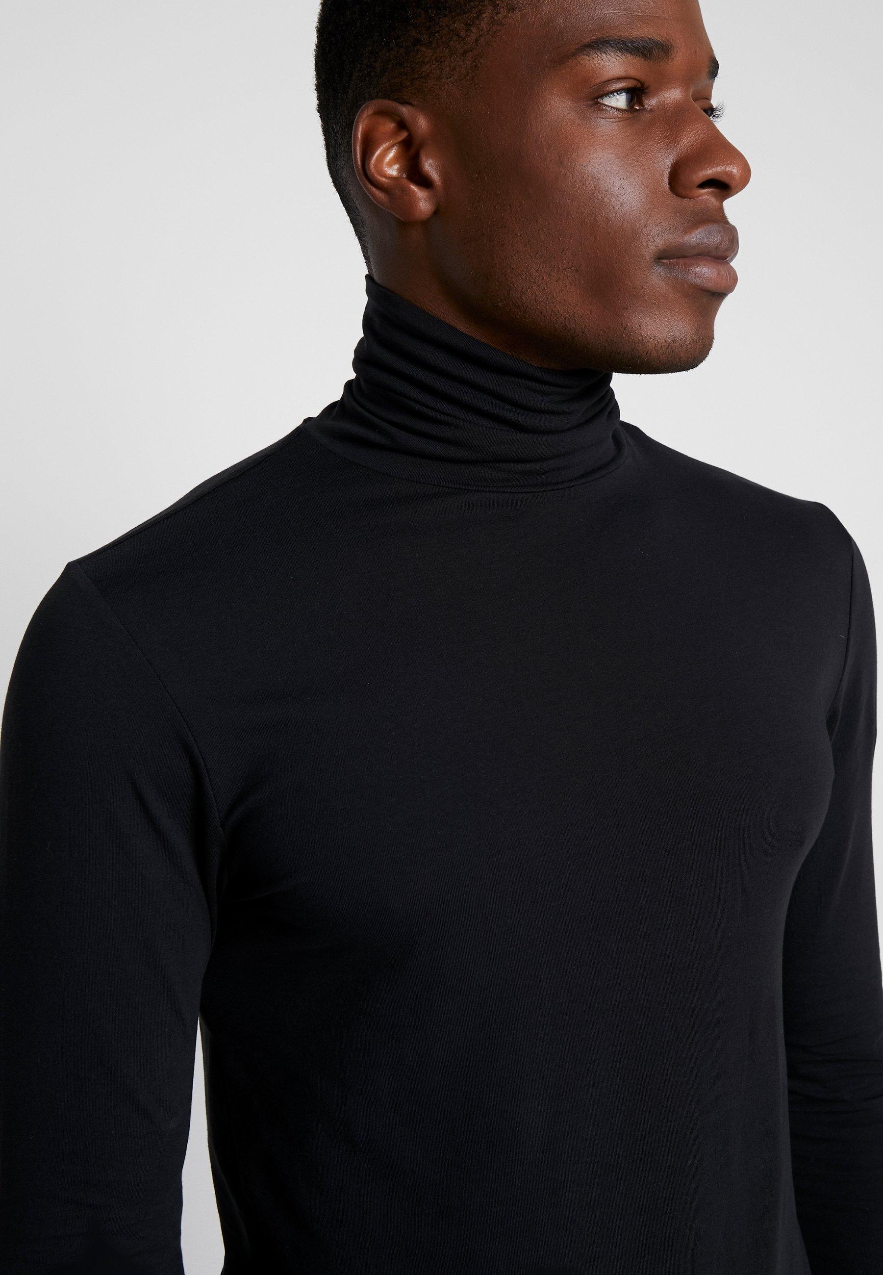 Maglietta Manica Pier Lunga A One Black redoCxBW