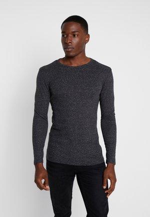 Bluzka z długim rękawem - mottled black