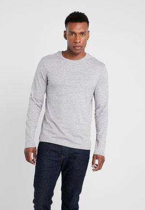 Långärmad tröja - mottled grey