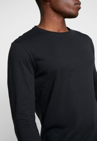Pier One - Long sleeved top - black - 4