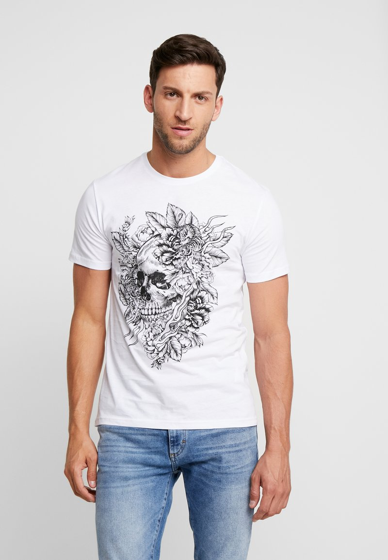 Pier One - T-Shirt print - white