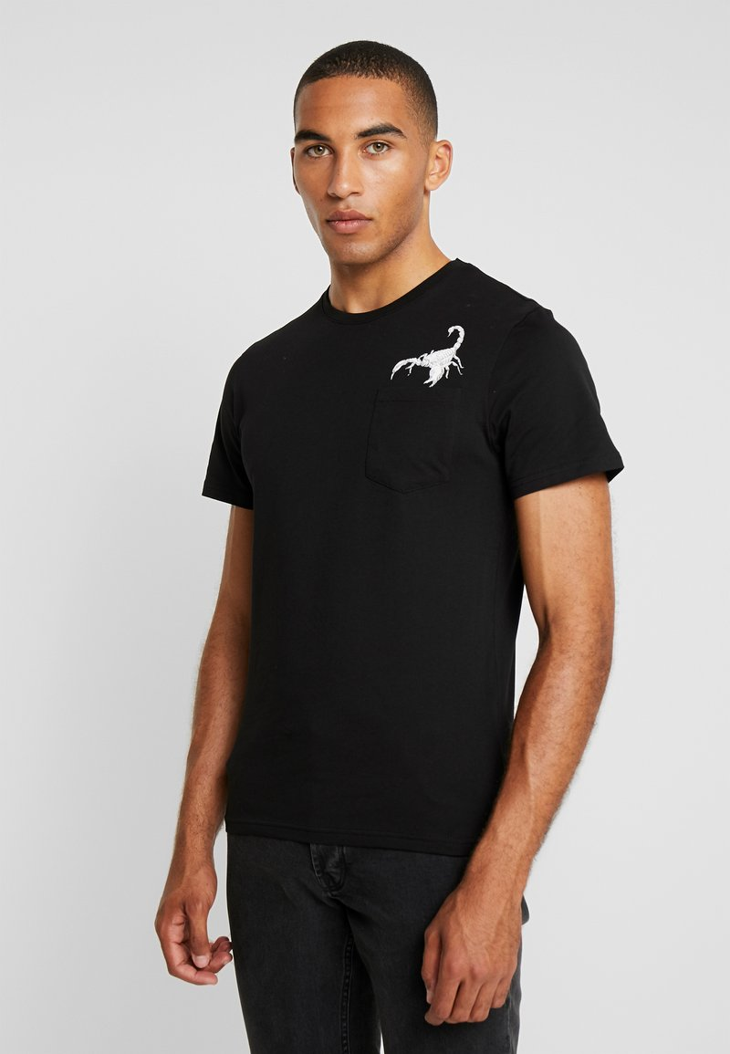 Pier One - T-Shirt print - black