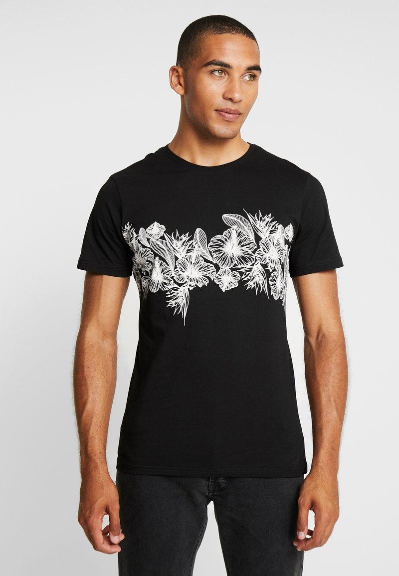 Pier One - T-shirt med print - black