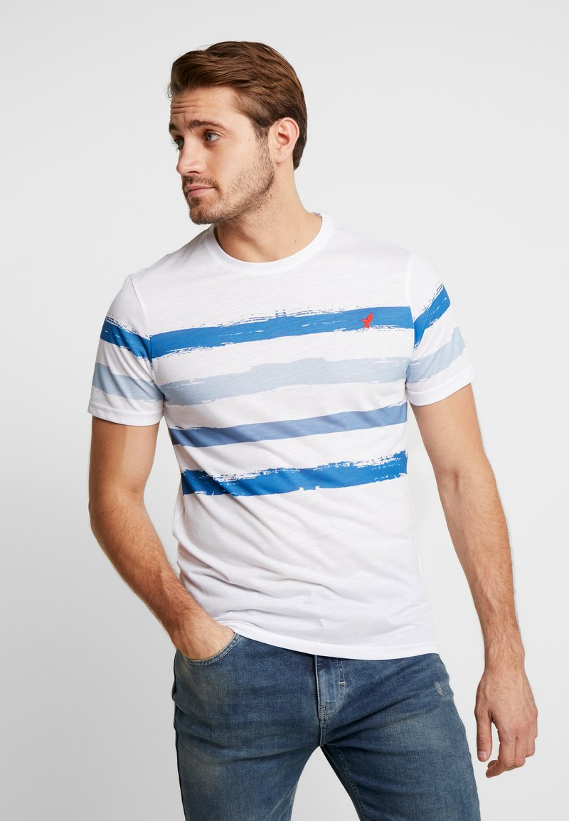 Pier One - Camiseta estampada - white