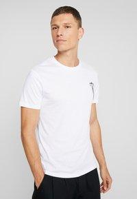 Pier One - T-shirt print - white - 2