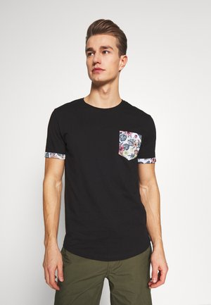 T-shirt z nadrukiem - black
