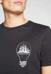 Pier One - T-shirt imprimé - black - 5