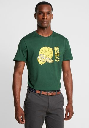 TEE FRUITI  - T-Shirt print - dark green