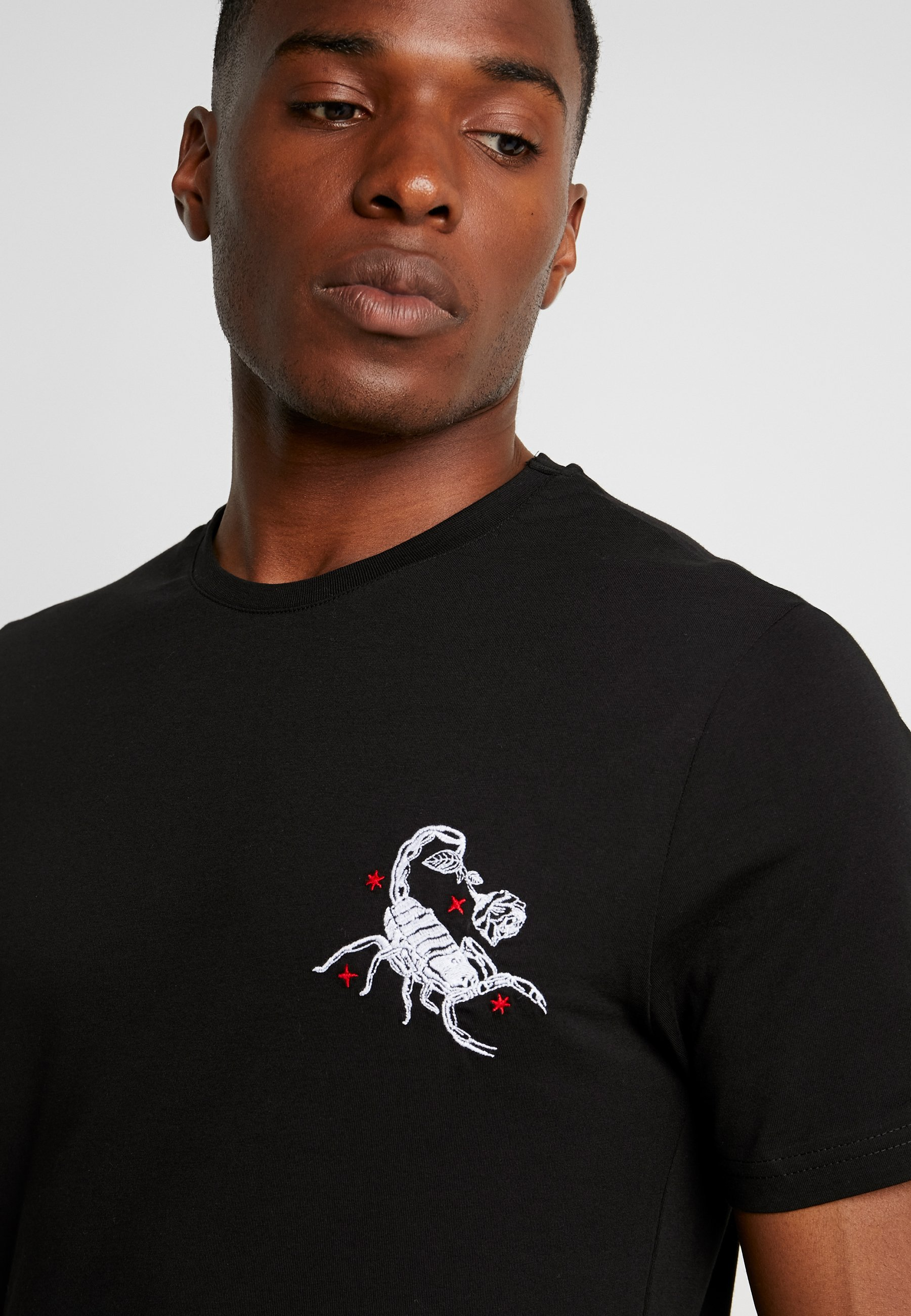 ImpriméBlack shirt Pier Pier T One 5RL34Aj