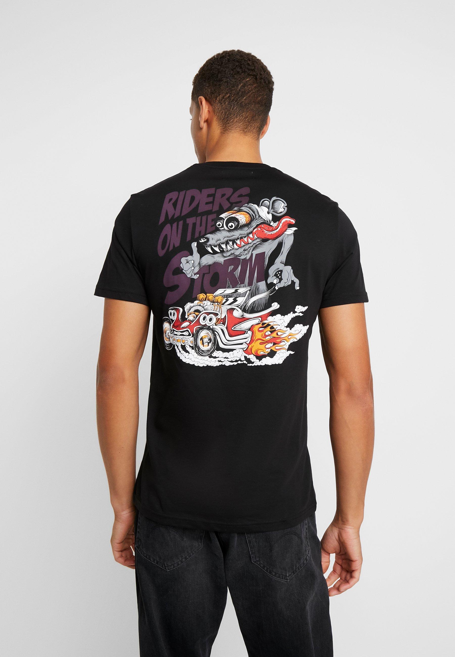 One Shirt ANIMALT print black MOTOR Pier htdsrQ