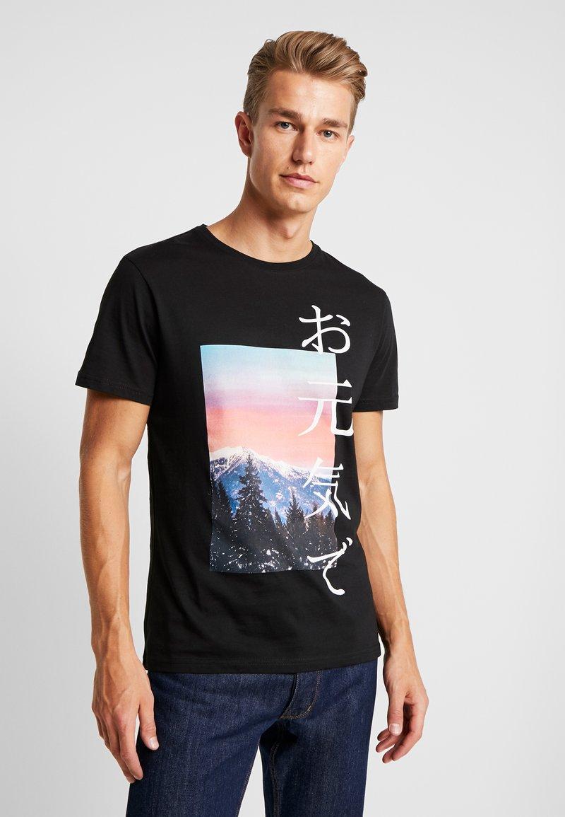Pier One - T-shirts print - black