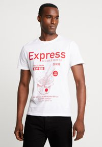 Pier One - T-shirts med print - white - 0