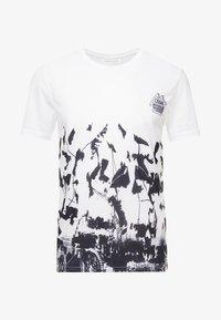 Pier One - SUBLIMATION BOTTOM - T-shirt med print - white - 3