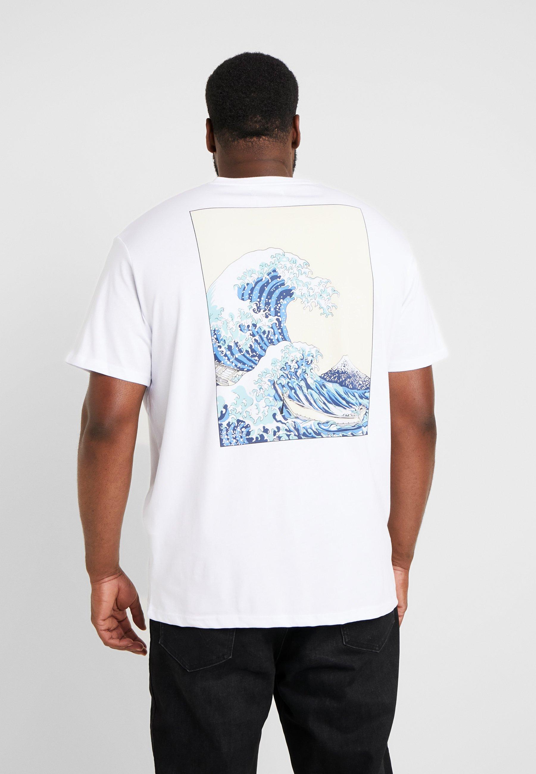 Pier WaveT shirt White Tee Big One Imprimé ZiPkXOu