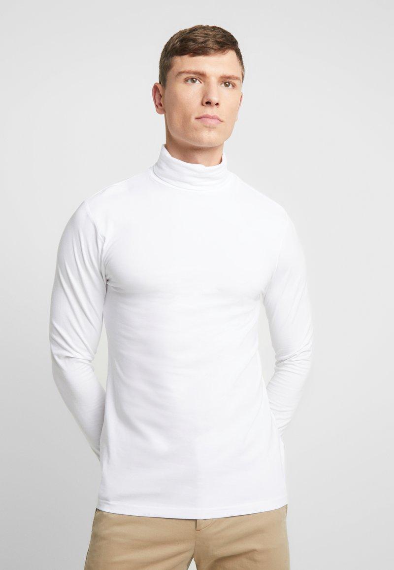 Pier One - Bluzka z długim rękawem - white