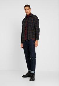Pier One - T-shirt à manches longues - bordeaux - 1