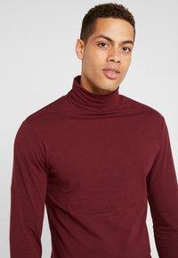 Pier One - T-shirt à manches longues - bordeaux - 4