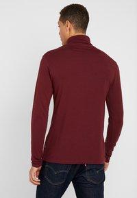 Pier One - T-shirt à manches longues - bordeaux - 2