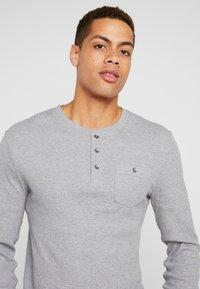 Pier One - Long sleeved top - mid grey melange - 4